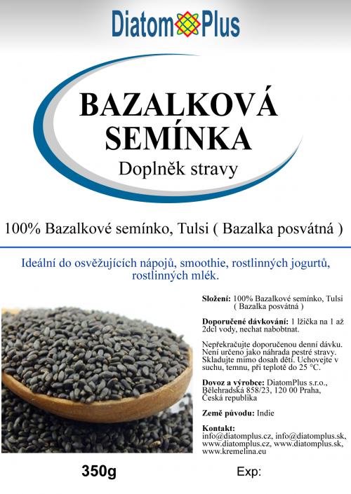 bazalkove seminka 350g