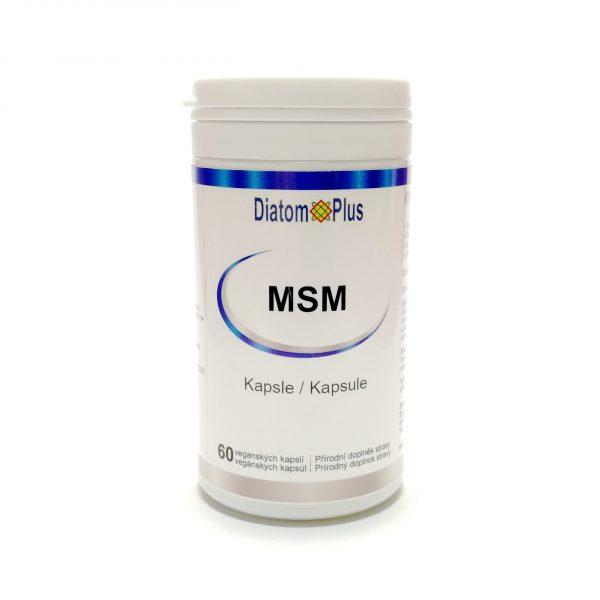 MSM DiatomPlus kapsule 60ks